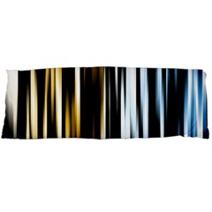 Digitally Created Striped Abstract Background Texture Body Pillow Case (Dakimakura)