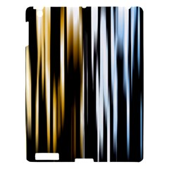 Digitally Created Striped Abstract Background Texture Apple iPad 3/4 Hardshell Case