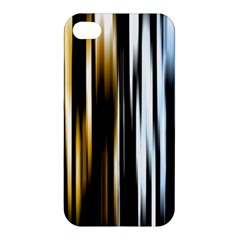 Digitally Created Striped Abstract Background Texture Apple iPhone 4/4S Premium Hardshell Case