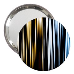Digitally Created Striped Abstract Background Texture 3  Handbag Mirrors
