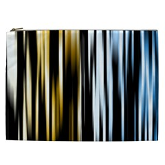 Digitally Created Striped Abstract Background Texture Cosmetic Bag (XXL)