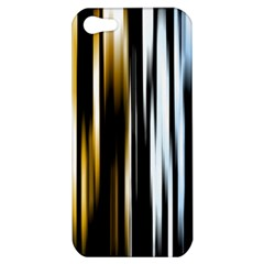 Digitally Created Striped Abstract Background Texture Apple iPhone 5 Hardshell Case