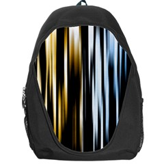 Digitally Created Striped Abstract Background Texture Backpack Bag