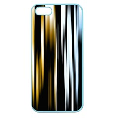 Digitally Created Striped Abstract Background Texture Apple Seamless iPhone 5 Case (Color)