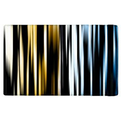 Digitally Created Striped Abstract Background Texture Apple iPad 3/4 Flip Case
