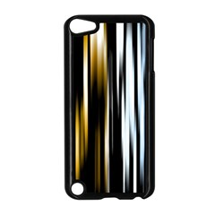Digitally Created Striped Abstract Background Texture Apple iPod Touch 5 Case (Black)