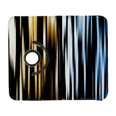 Digitally Created Striped Abstract Background Texture Galaxy S3 (Flip/Folio)