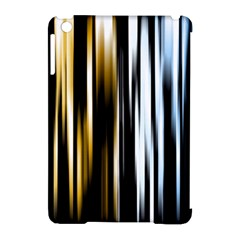 Digitally Created Striped Abstract Background Texture Apple iPad Mini Hardshell Case (Compatible with Smart Cover)