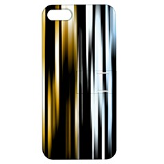 Digitally Created Striped Abstract Background Texture Apple iPhone 5 Hardshell Case with Stand