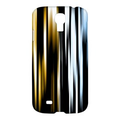 Digitally Created Striped Abstract Background Texture Samsung Galaxy S4 I9500/I9505 Hardshell Case
