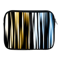 Digitally Created Striped Abstract Background Texture Apple iPad 2/3/4 Zipper Cases