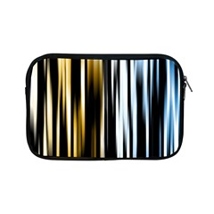 Digitally Created Striped Abstract Background Texture Apple iPad Mini Zipper Cases
