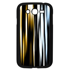 Digitally Created Striped Abstract Background Texture Samsung Galaxy Grand DUOS I9082 Case (Black)