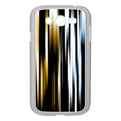 Digitally Created Striped Abstract Background Texture Samsung Galaxy Grand DUOS I9082 Case (White)