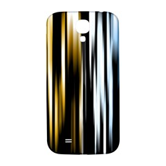 Digitally Created Striped Abstract Background Texture Samsung Galaxy S4 I9500/I9505  Hardshell Back Case