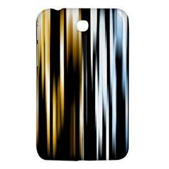 Digitally Created Striped Abstract Background Texture Samsung Galaxy Tab 3 (7 ) P3200 Hardshell Case