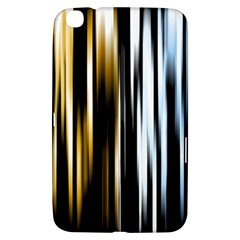 Digitally Created Striped Abstract Background Texture Samsung Galaxy Tab 3 (8 ) T3100 Hardshell Case