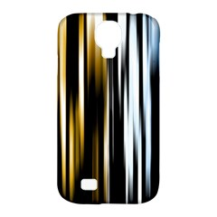 Digitally Created Striped Abstract Background Texture Samsung Galaxy S4 Classic Hardshell Case (PC+Silicone)
