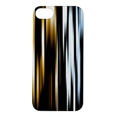 Digitally Created Striped Abstract Background Texture Apple iPhone 5S/ SE Hardshell Case