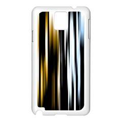 Digitally Created Striped Abstract Background Texture Samsung Galaxy Note 3 N9005 Case (White)