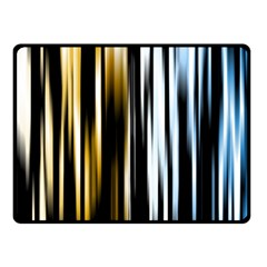 Digitally Created Striped Abstract Background Texture Double Sided Fleece Blanket (Small)
