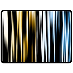 Digitally Created Striped Abstract Background Texture Double Sided Fleece Blanket (Large)
