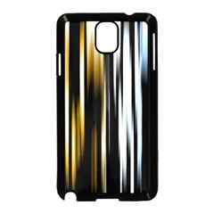 Digitally Created Striped Abstract Background Texture Samsung Galaxy Note 3 Neo Hardshell Case (Black)