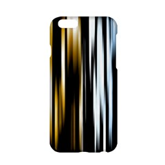 Digitally Created Striped Abstract Background Texture Apple iPhone 6/6S Hardshell Case