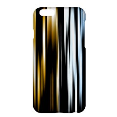 Digitally Created Striped Abstract Background Texture Apple iPhone 6 Plus/6S Plus Hardshell Case