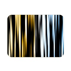 Digitally Created Striped Abstract Background Texture Double Sided Flano Blanket (Mini)