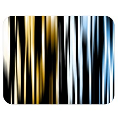 Digitally Created Striped Abstract Background Texture Double Sided Flano Blanket (Medium)