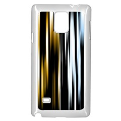 Digitally Created Striped Abstract Background Texture Samsung Galaxy Note 4 Case (White)