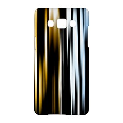 Digitally Created Striped Abstract Background Texture Samsung Galaxy A5 Hardshell Case