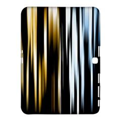 Digitally Created Striped Abstract Background Texture Samsung Galaxy Tab 4 (10.1 ) Hardshell Case