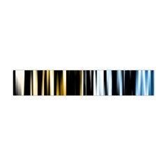 Digitally Created Striped Abstract Background Texture Flano Scarf (Mini)