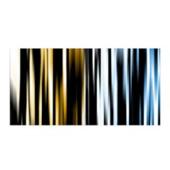Digitally Created Striped Abstract Background Texture Satin Wrap