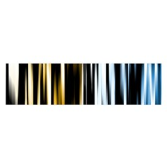 Digitally Created Striped Abstract Background Texture Satin Scarf (Oblong)
