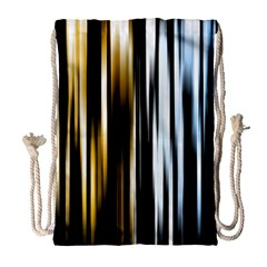 Digitally Created Striped Abstract Background Texture Drawstring Bag (Large)