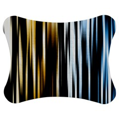 Digitally Created Striped Abstract Background Texture Jigsaw Puzzle Photo Stand (Bow)