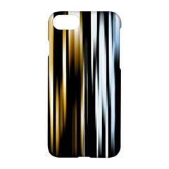 Digitally Created Striped Abstract Background Texture Apple iPhone 7 Hardshell Case