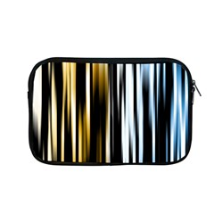 Digitally Created Striped Abstract Background Texture Apple MacBook Pro 13  Zipper Case