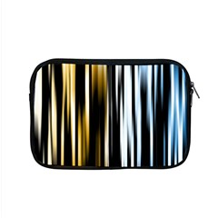 Digitally Created Striped Abstract Background Texture Apple MacBook Pro 15  Zipper Case