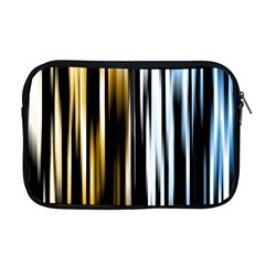Digitally Created Striped Abstract Background Texture Apple MacBook Pro 17  Zipper Case