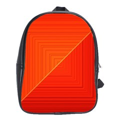 Abstract Clutter Baffled Field School Bags(large)