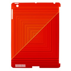 Abstract Clutter Baffled Field Apple Ipad 3/4 Hardshell Case (compatible With Smart Cover) by Simbadda