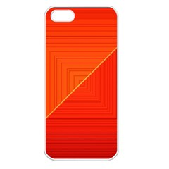 Abstract Clutter Baffled Field Apple Iphone 5 Seamless Case (white) by Simbadda