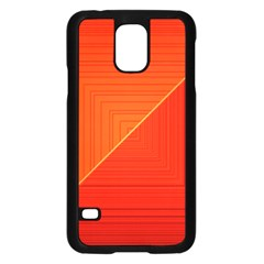 Abstract Clutter Baffled Field Samsung Galaxy S5 Case (black)