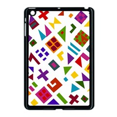A Colorful Modern Illustration For Lovers Apple Ipad Mini Case (black) by Simbadda