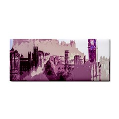 Abstract Painting Edinburgh Capital Of Scotland Cosmetic Storage Cases by Simbadda
