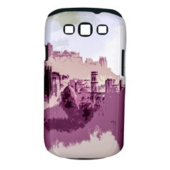 Abstract Painting Edinburgh Capital Of Scotland Samsung Galaxy S Iii Classic Hardshell Case (pc+silicone)